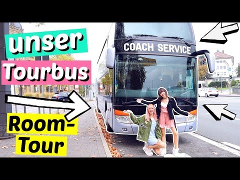 Tour durch unseren TOURBUS!! 😱 Tourbus Tour | ViktoriaSarina