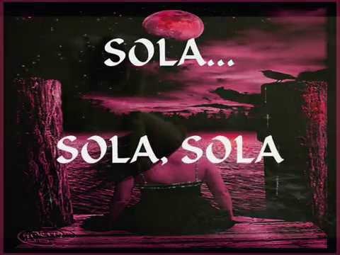 SOLA...TRISTE Y SOLA