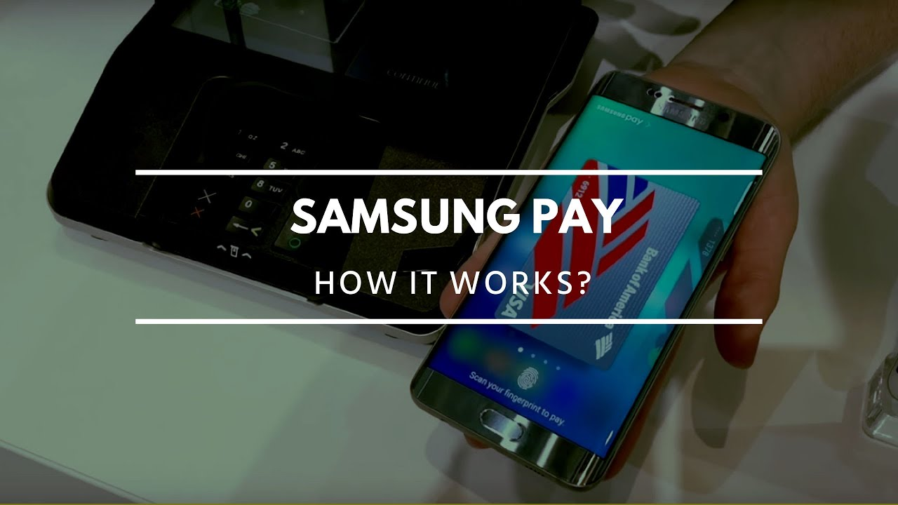 how samsung pay works look at ifa 2015