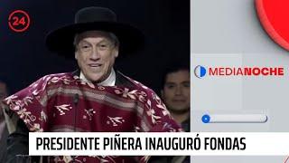 Presidente Piñera da inicio a cinco días de celebraciones dieciocheras en el Parque O'Higgins