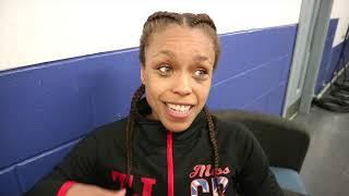 NATASHA JONAS REACTS TO 7th ROUND TKO TO CLAIM FIRST PROFESSIONAL TITLE