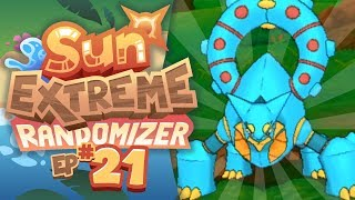 IS THAT A BLUE VOLCANION?! - Pokemon Sun Extreme Randomizer (Episode 21)