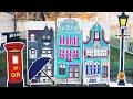 Поделки - Декорации из картона для школьного спектакля «Мэри Поппинс»