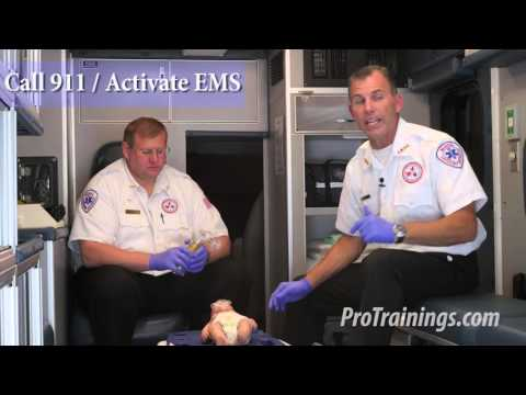 Infant CPR - Two Rescuer