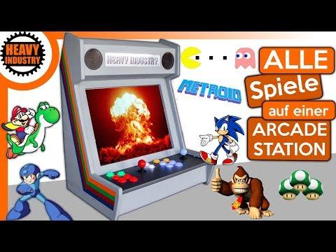 (1/2) DEIN 🔥 Arcade Automat 🔥 mit 1001 Spielen!