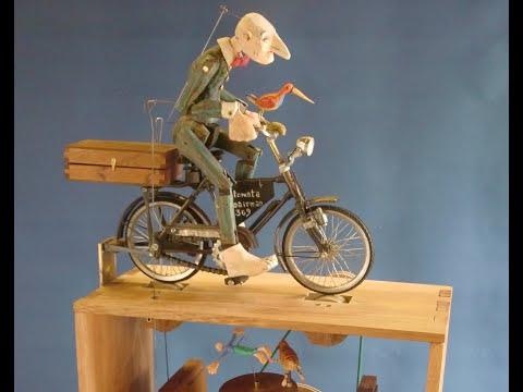 wood chopping whirligig | Doovi