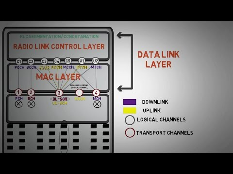 2.5 - Mapping of Logical to Transport channel with Example  - Fundamentals of 4G (LTE)