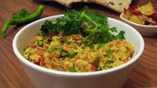 Paneer Bhurji   Sabzis   Indian Vegetarian Recipes
