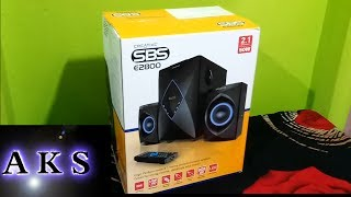 Creative Creative SBS-E2800 2.1 home Theatre UnBoxing by AKS