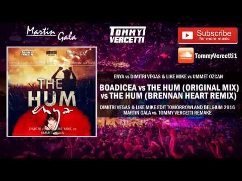 The Hum vs Boadicea  - Dimitri Vegas & Like Mike Edit Tomorrowland Belgium 2016
