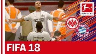 Bayern vs. Frankfurt - DFB Cup Final - FIFA 18 Prediction with EA Sports