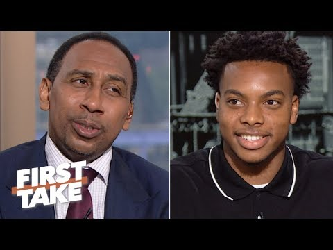 Darius Garland makes his case for being drafted by the Knicks: 'I shine in the light' | First Take