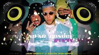 Jhay Cortez Ft. J Balvin Y Bad Bunny - No Me Conoce [Remix] (Bass Boosted)