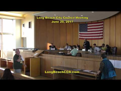 Long Beach NY City Council Meeting 06/20/17