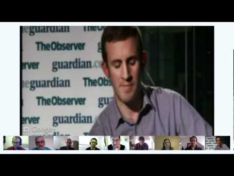 Google+ hangout with George Monbiot