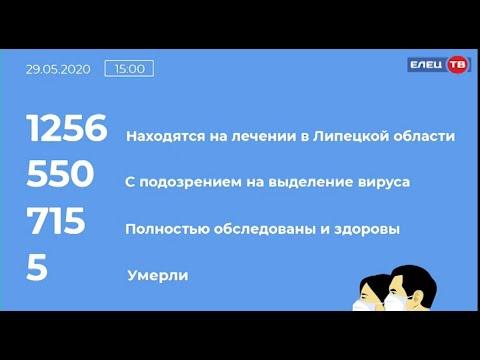Ограничительные мероприятия на территории Липецкой области продлены до 20 июня: