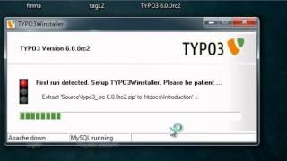 01.Typo3 installieren mit typo3 Winstaller