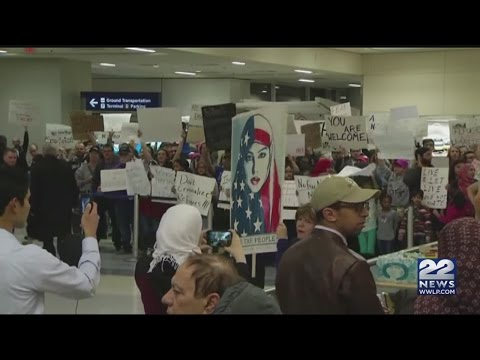 Immigration ban causing unrest at Bradley International Airport