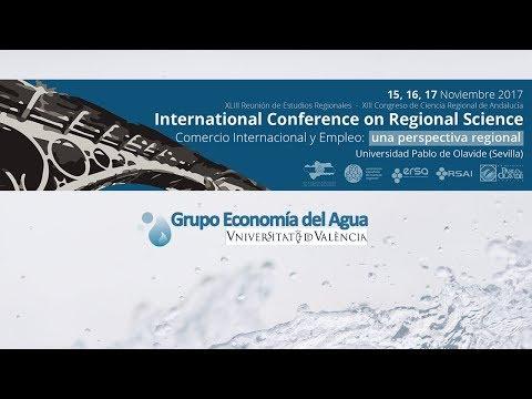 XIII Congreso de Ciencia Regional (Sevilla) | Grupo Economía del Agua