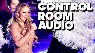 Repeat youtube video Control Room Audio During Mariah Carey NYE Performance - PARODY