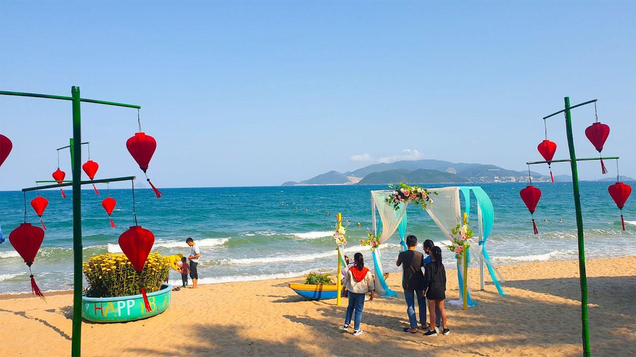 Biển Nha Trang Ngày Mùng 3 Tết Canh Tý 2020 | Hana Ngo