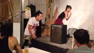 Mikiko Kawamura (Dance) x Kazehito (Voiz) 20140905