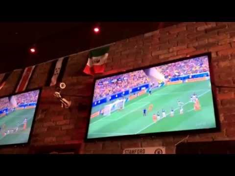 Holland Mexico 2-1 from NYC. Hup Holland Hup