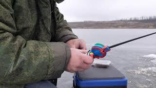 Весенний подлещик со льда Рыбалка 1 марта