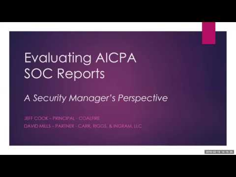 Coalfire - Improve your compliance standing  Coalfire SOC Reporting