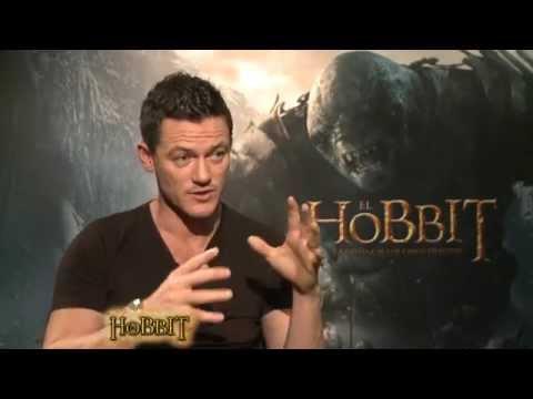 Entrevista Luke Evans - El Hobbit: la Batalla de los Cinco Ejércitos