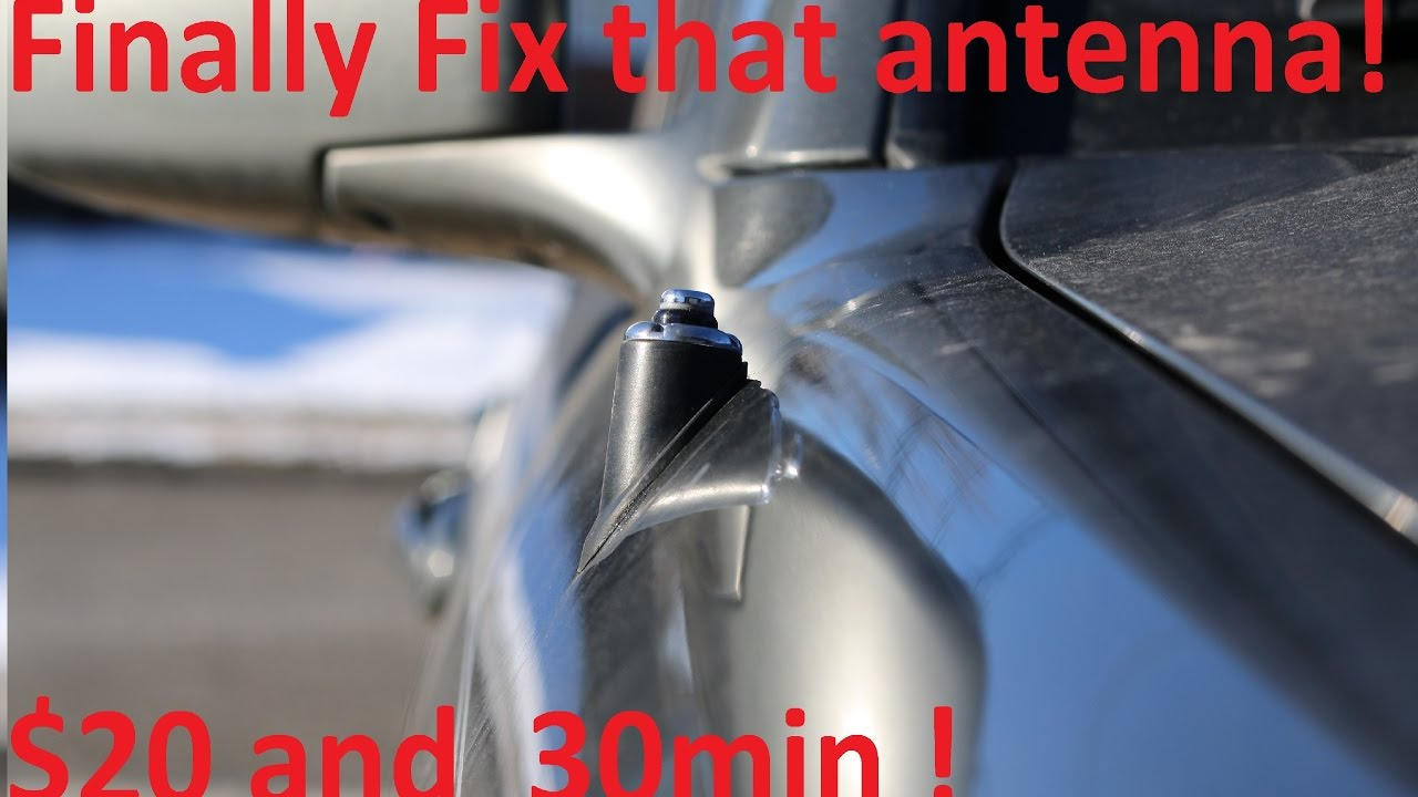 small resolution of how to replace broken power antenna on toyota and lexus vehicles