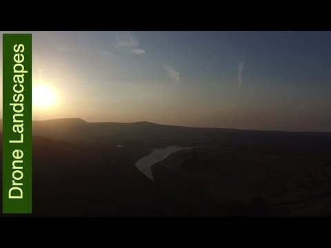 Isle of Man by Drone - Sulby Reservoir