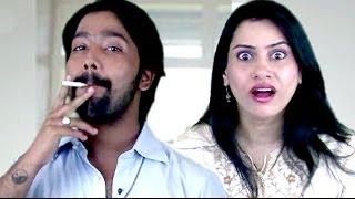 Wife Stops Husband From Smoking - Hindi Jokes 6