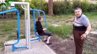 Hardkorowy trening w polskim Golds Gym