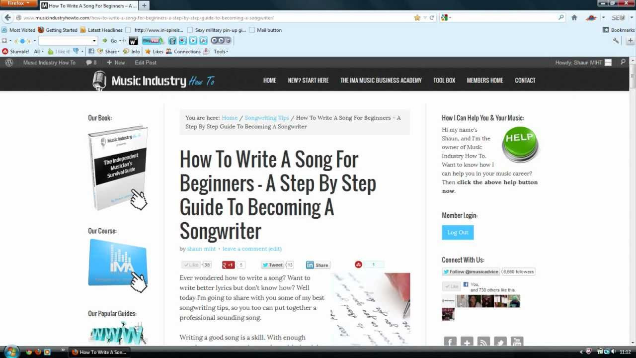 How To Write A Song For Beginners  A Step By Step Guide To Becoming A  Songwriter  Music Industry How To