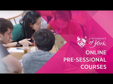Online Pre-sessional Courses