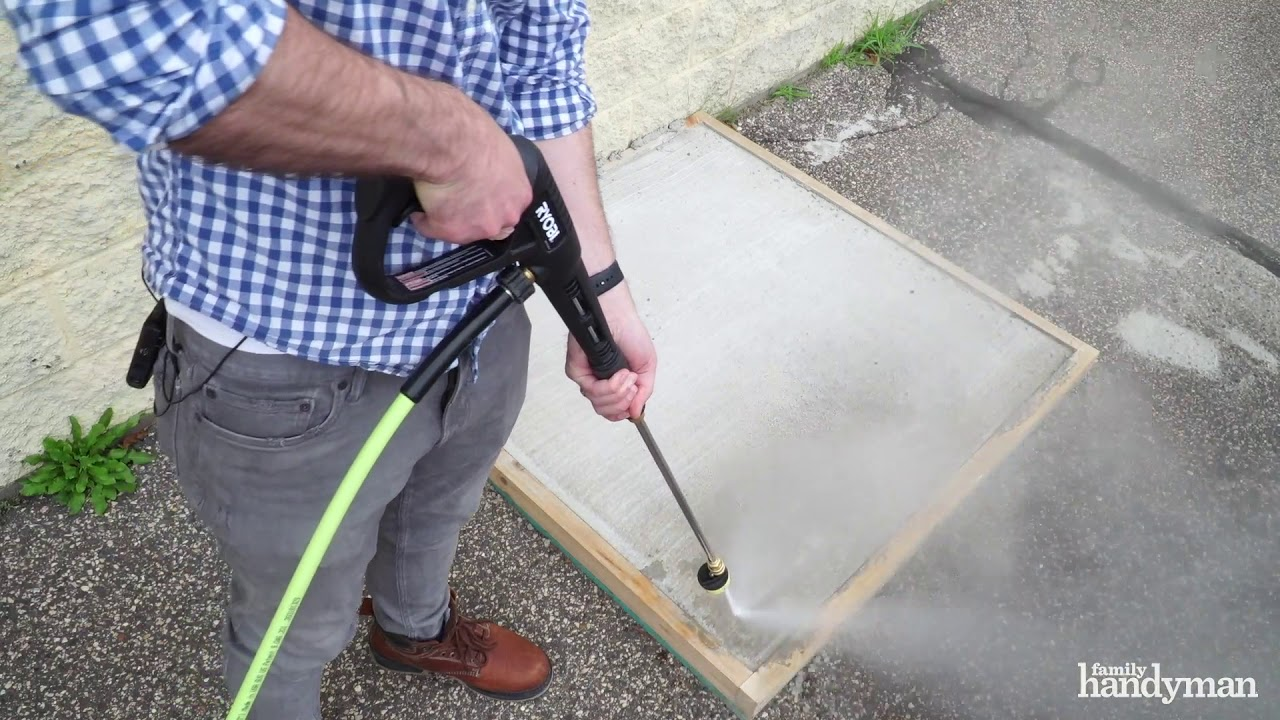Can You Damage Concrete With a Pressure Washer?