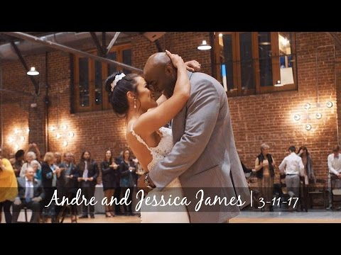 """Jessica and Andre Tie the Knot! - Dance Routine to """"Shape of You"""" by Ed Sheeran"""