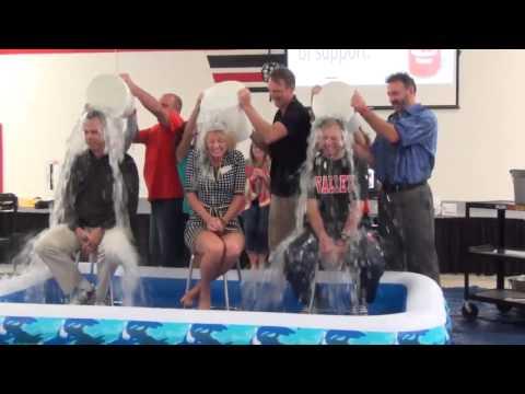 Rockwood Valley Middle School Ice Bucket Challenge