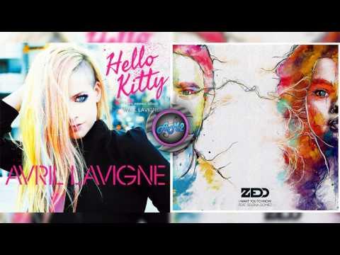 Zedd Ft Avril Lavigne - I want you hello kitty (Mashup)