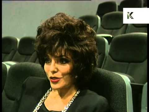Mid 1990s Joan Collins Interview, on Cinema, Archive Footage
