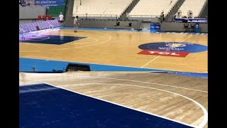 FIBA probe sought on removal of PLDT decals at Philippine Arena by Aussie team