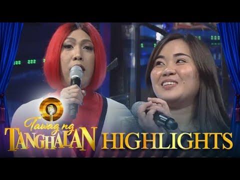 Tawag ng Tanghalan: Vice Ganda convinces Eron to continue her studies