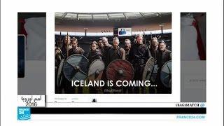 كأس الأمم الأوروبية ومواقع التواصل الاجتماعي: بركان أيسلندا ثائر
