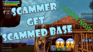 Fortnite: SAVE THE WORLD SCAMMER GET SCAMMED BASE !
