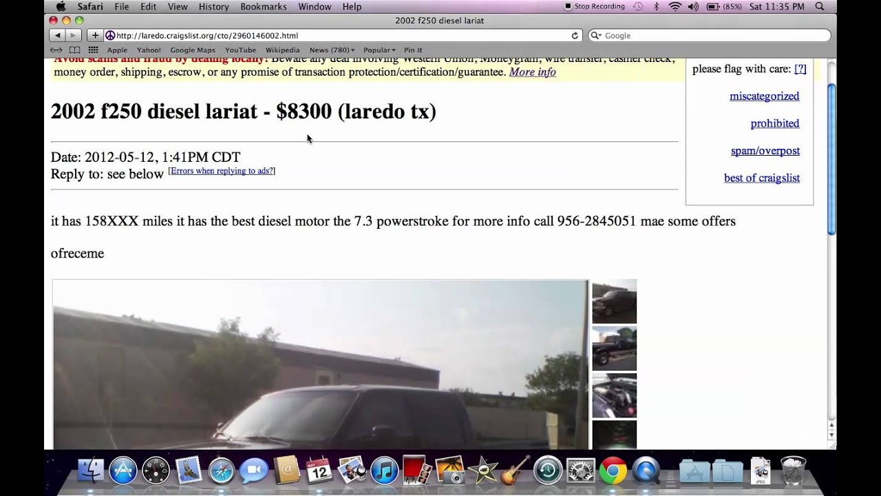 Craigslist Laredo Used Trucks Vans And Cars Under 3500 Available