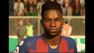 Ansu fati v2 fifa20 face mod by br7.. hit the like button and if you are impressed do subsribe my channel.. :) download link:https://ufifamods.com/blog/post/...