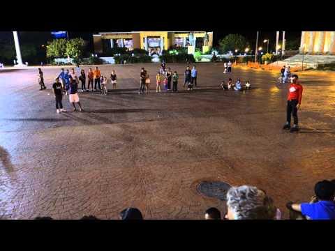 Managua street performance Nicaragua