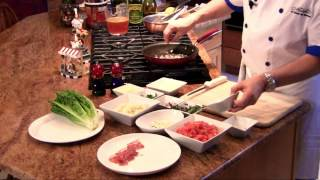 How To Make Italian Stuffed Pork Chops With Mozzarella & Prosciutto : Great Italian Eats