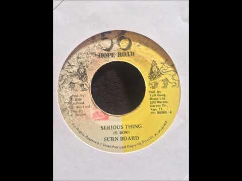 "Suru Board - Serious Thing + Dub - 7"" 56 Hope Road 1987 - LOVE POTENTIAL 80'S DANCEHALL"